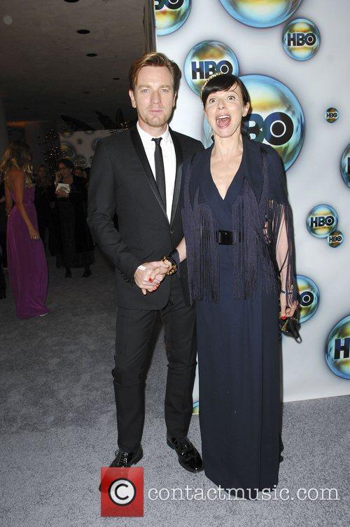 Ewan McGregor, Eve Mavrakis  The 69th Annual...