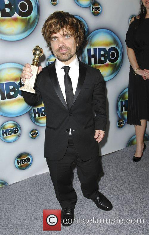 Peter Dinklage and Golden Globe 3