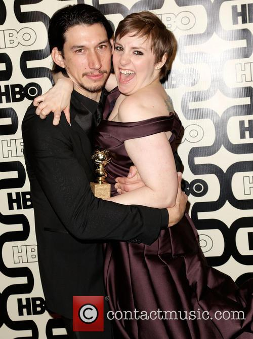 Adam Driver, Lena Dunham and Beverly Hilton Hotel 6