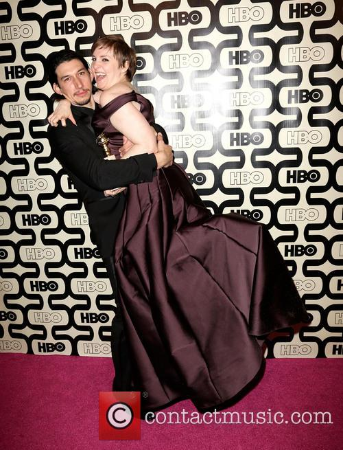 Adam Driver, Lena Dunham and Beverly Hilton Hotel 4