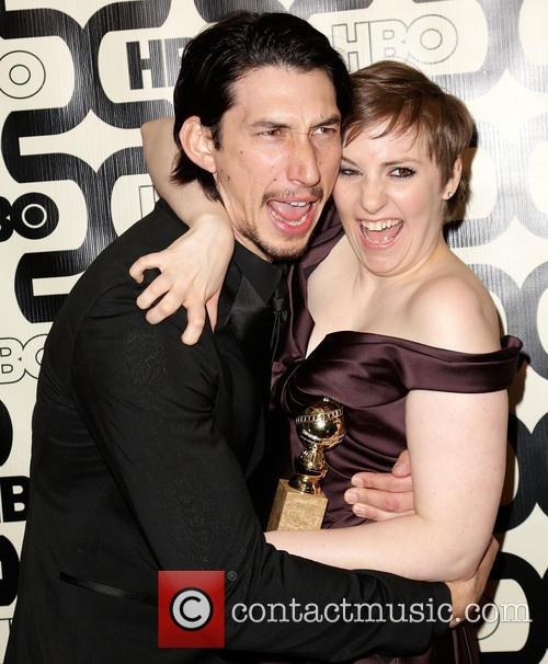 Adam Driver, Lena Dunham and Beverly Hilton Hotel 1