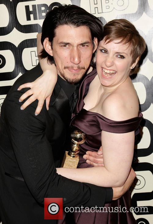 Adam Driver, Lena Dunham and Beverly Hilton Hotel 5