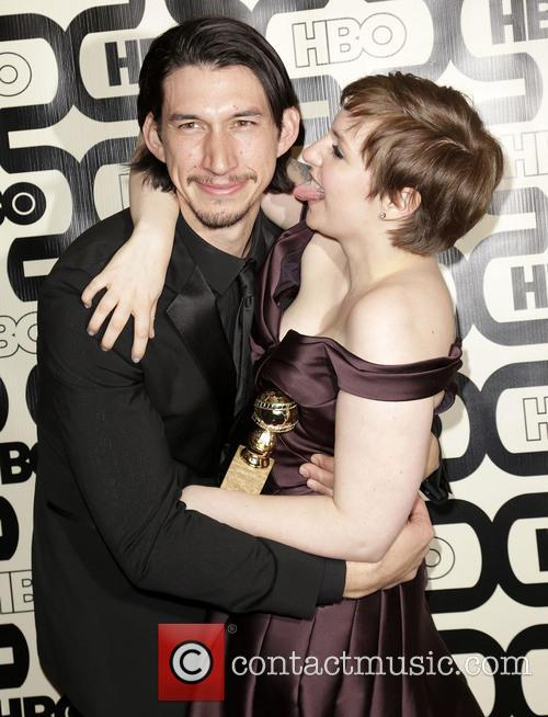 Adam Driver, Lena Dunham and Beverly Hilton Hotel 2