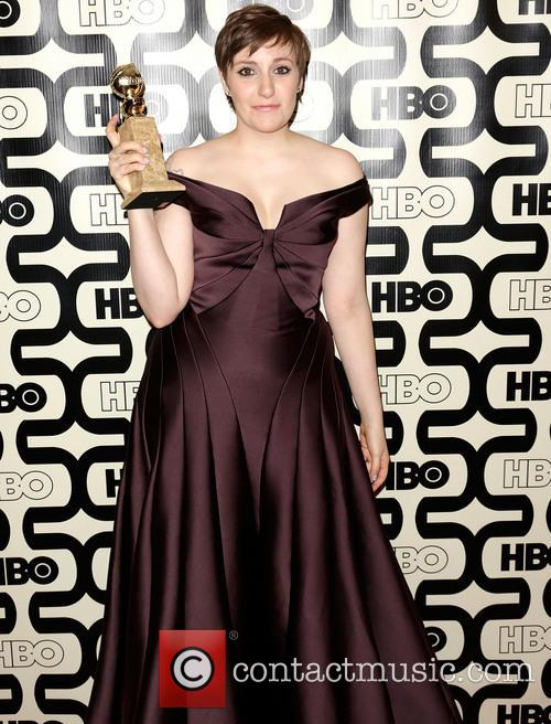 Lena Dunham and Beverly Hilton Hotel 2