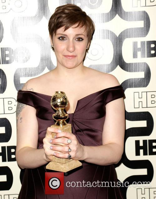 Lena Dunham and Beverly Hilton Hotel 4