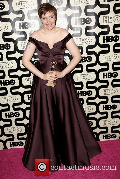 Lena Dunham, Golden Globes Dress 2013