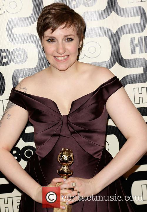 Lena Dunham and Beverly Hilton Hotel 5