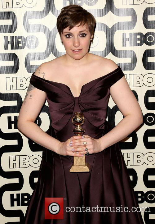 Lena Dunham and Beverly Hilton Hotel 6