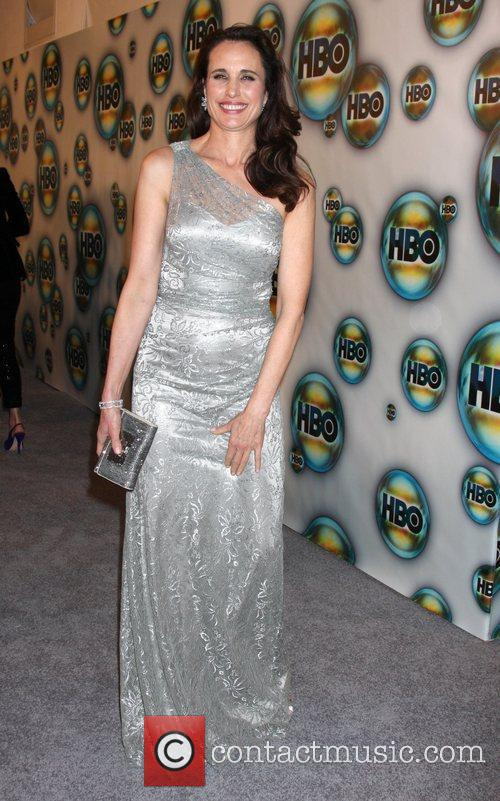 Andie Macdowell and Golden Globe 1