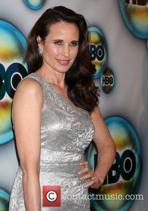 Andie Macdowell and Golden Globe 10