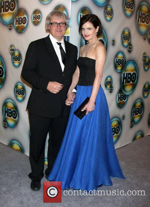 Elizabeth Mcgovern and Golden Globe 1