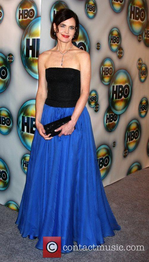 Elizabeth Mcgovern and Golden Globe 7