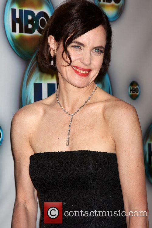 Elizabeth Mcgovern and Golden Globe 8