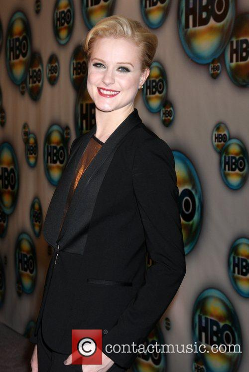 Evan Rachel Wood and Golden Globe 1