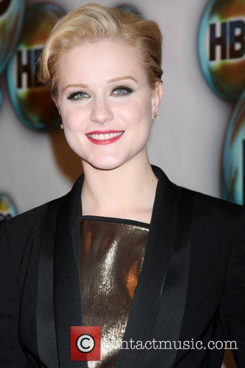 Evan Rachel Wood and Golden Globe 7
