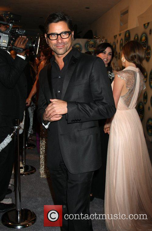 John Stamos and Golden Globe 7