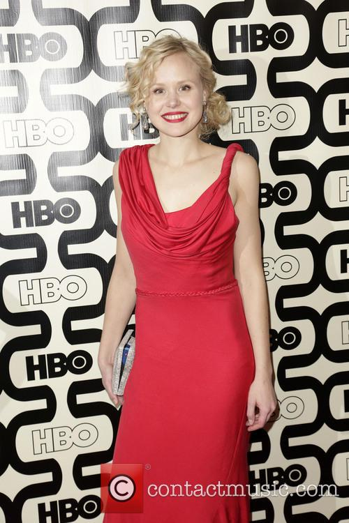 Alison Pill and Beverly Hilton Hotel 7
