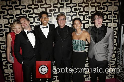 Alison Pill, Thomas Sadoski, Dev Patel, Aaron Sorkin, Olivia Munn, John Gallagher Jr and Beverly Hilton Hotel 8