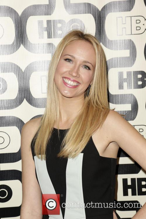Anna Camp and Beverly Hilton Hotel 5