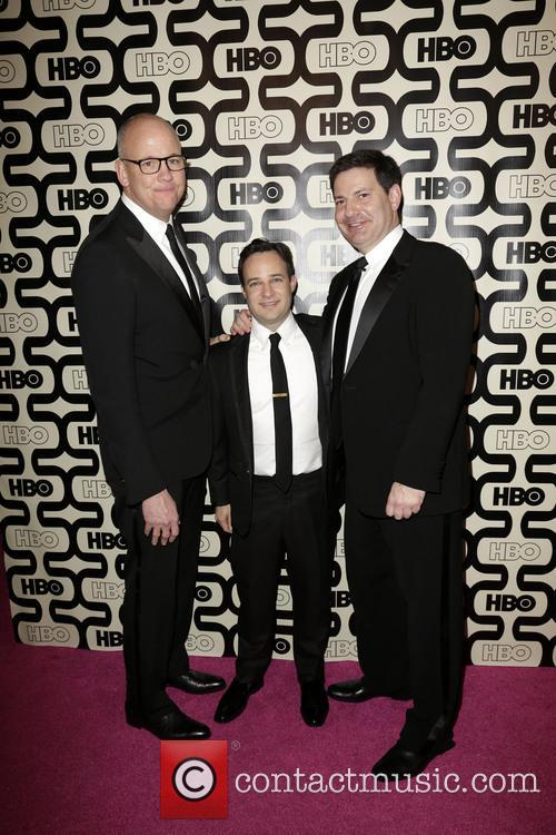 Danny Strong (C); guests 2013 HBO's Golden Globes...