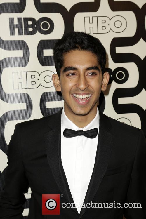 Dev Patel and Beverly Hilton Hotel 4