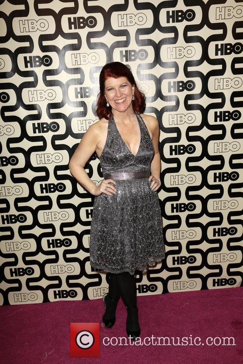Kate Flannery and Beverly Hilton Hotel 5