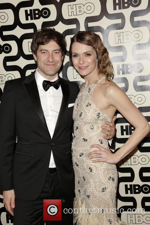 Mark Duplass, Katie Aselton and Beverly Hilton Hotel 6