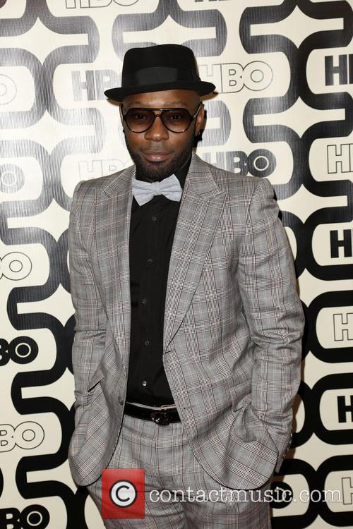 Nelsan Ellis and Beverly Hilton Hotel 1