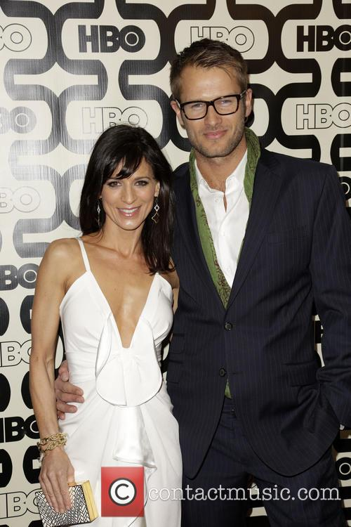 Perrey Reeves, Johan Urb and Beverly Hilton Hotel 1