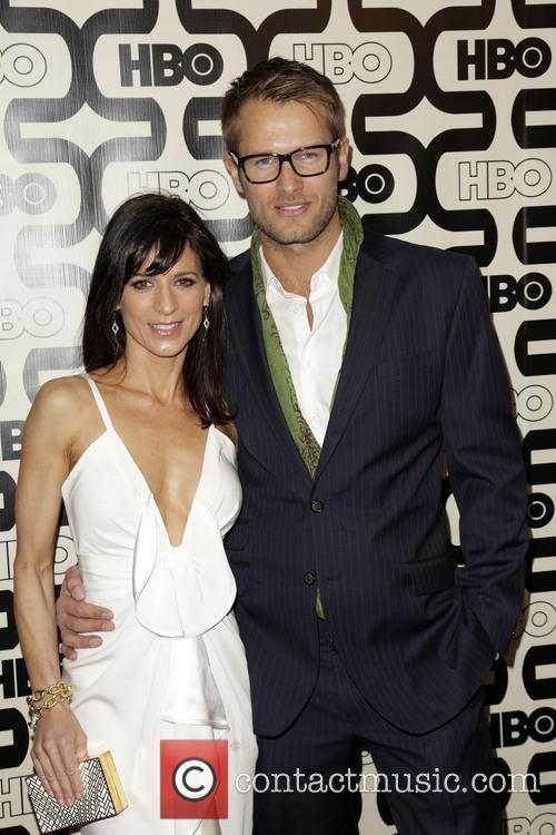 Perrey Reeves, Johan Urb and Beverly Hilton Hotel 6