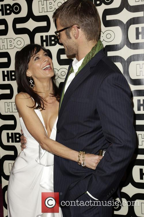 Perrey Reeves, Johan Urb and Beverly Hilton Hotel 10