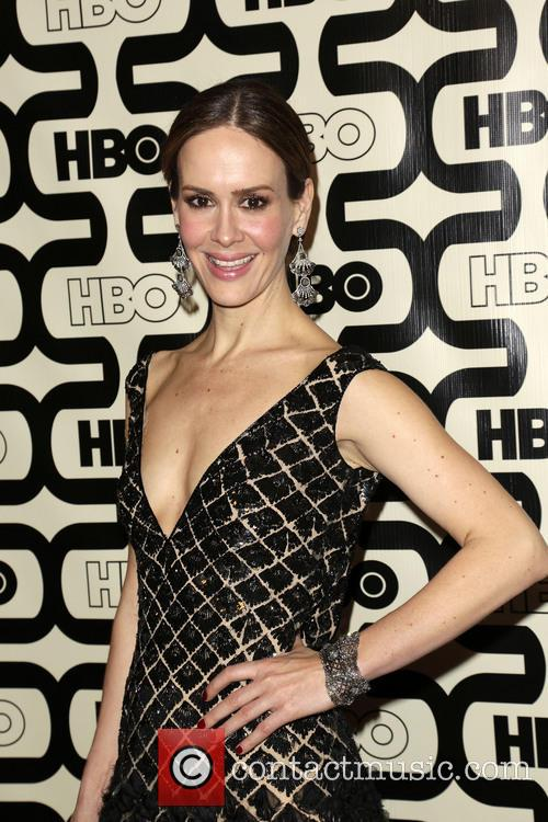 Sarah Paulson and Beverly Hilton Hotel 8