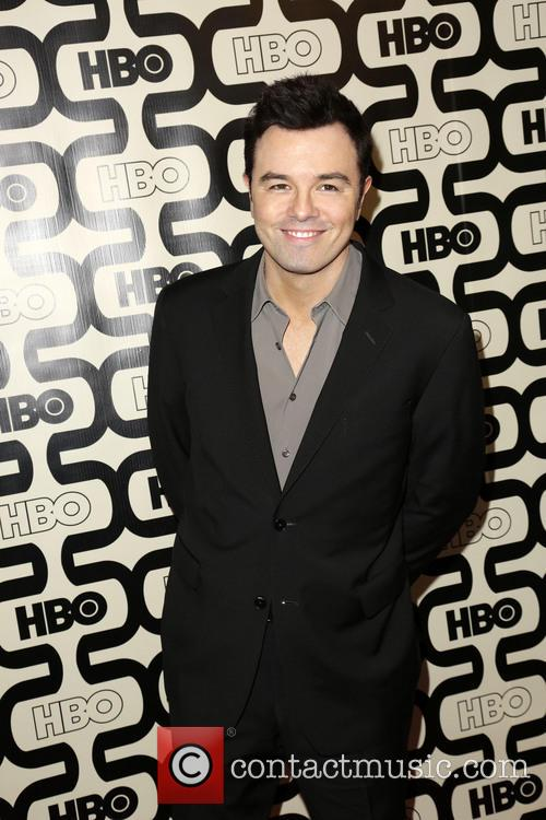 Seth McFarlane, HBO Golden Globes Party