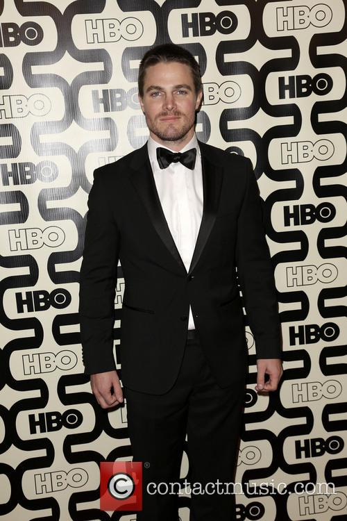 Stephen Amell and Beverly Hilton Hotel 1