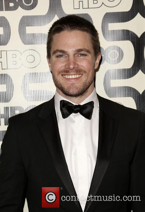 Stephen Amell and Beverly Hilton Hotel 3
