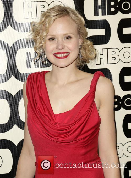 Alison Pill and Beverly Hilton Hotel 2