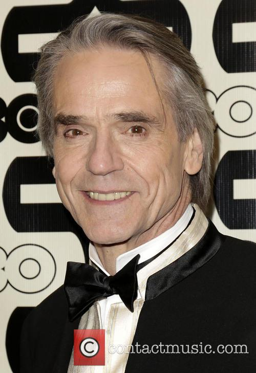 Jeremy Irons and Beverly Hilton Hotel