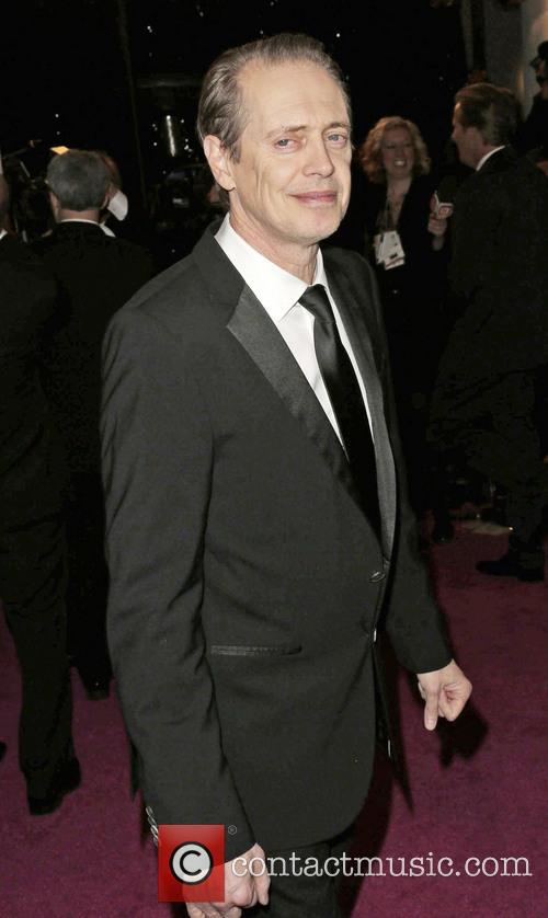 Steve Buscemi and Beverly Hilton Hotel 2