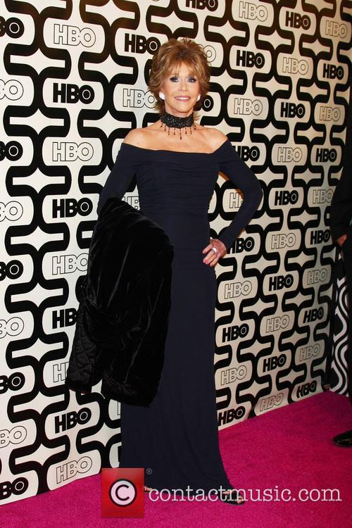 Jane Fonda 2013 HBO's Golden Globes Party at...