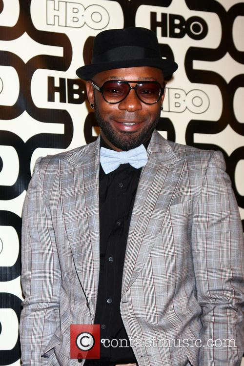 Nelsan Ellis and Beverly Hilton Hotel 4