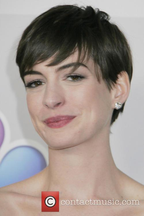 Anne Hathaway and Beverly Hilton Hotel 3