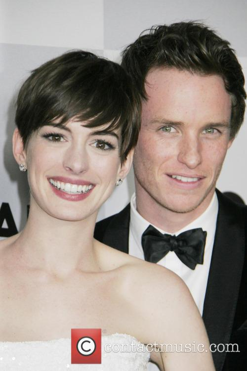 Anne Hathaway, Eddy Redmayne and Beverly Hilton Hotel 5
