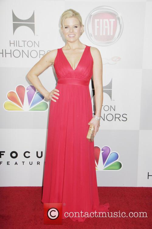 Megan Hilty and Beverly Hilton Hotel 4