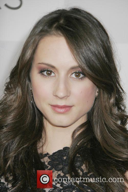 Troian Bellisario and Beverly Hilton Hotel 3