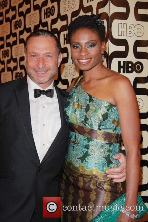 Alan Poul, Adina Porter and Beverly Hilton Hotel 1