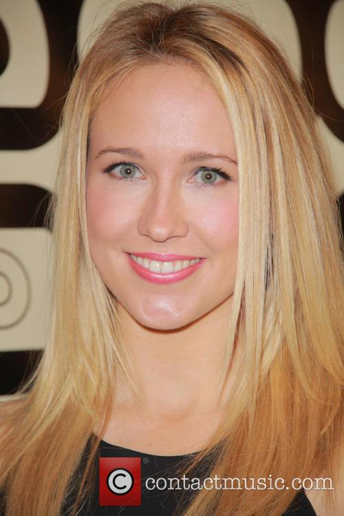 Anna Camp and Beverly Hilton Hotel 3