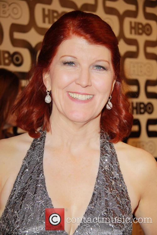 Kate Flannery and Beverly Hilton Hotel 2