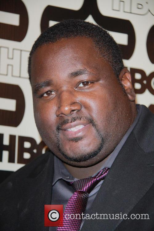 Quinton Aaron and Beverly Hilton Hotel 10