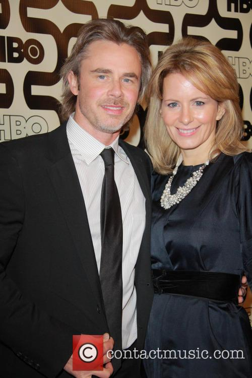 Sam Trammell and Beverly Hilton Hotel 1