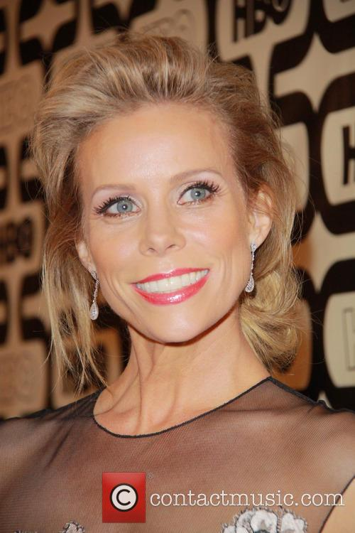 Cheryl Hines and Beverly Hilton Hotel 4